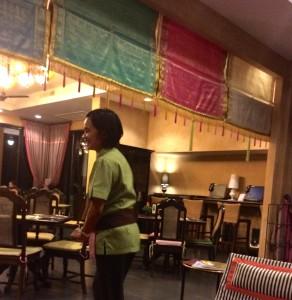 Restaurant at mansion resort